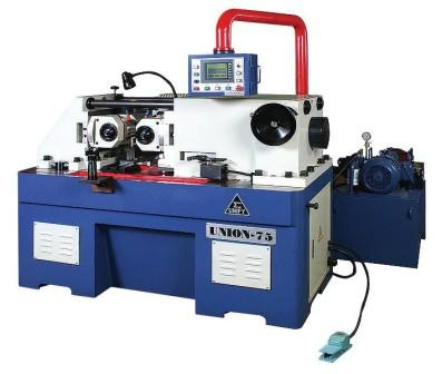 UM-75 (75A) hydraulic thru feed type thread rolling machines, 2-roll forming machines,thread rolling machines